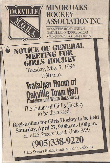 Notice of general meeting for girls hockey!